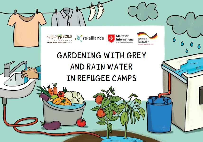 Gardening with grey water