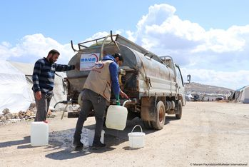 Water supply in Syria