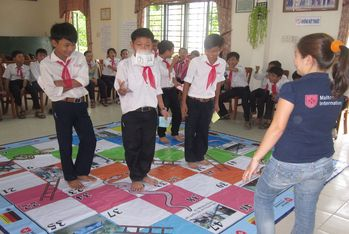 More than 1,000 pupils have already learnt in workshops how to protect themselves against disasters.