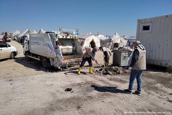 Ensuring adequate waste management in Syria