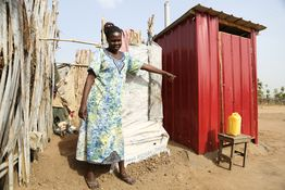 Improved access to clean water, adequate sanitation and hygiene