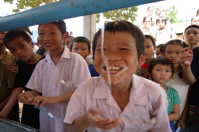 Handwashing with soap has an important role to play in children's survival and health.