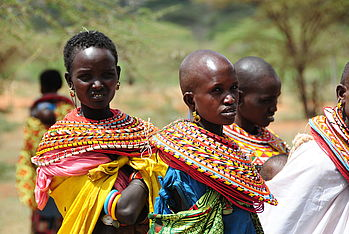 After a severe drought in 2009, Malteser International provided people in Kenya with food and medication.
