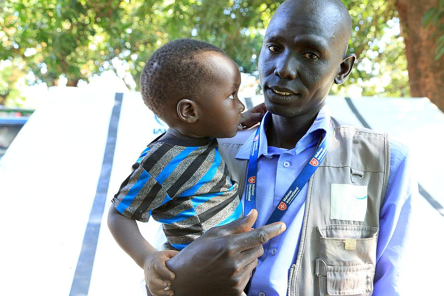 In South Sudan alone, 100,000 people are facing starvation. Photo: Malteser International