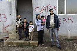 Emergency relief for Syrian refugees